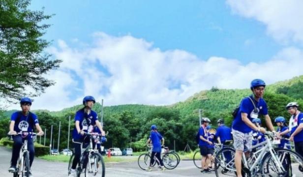 梼原町、サイクリング